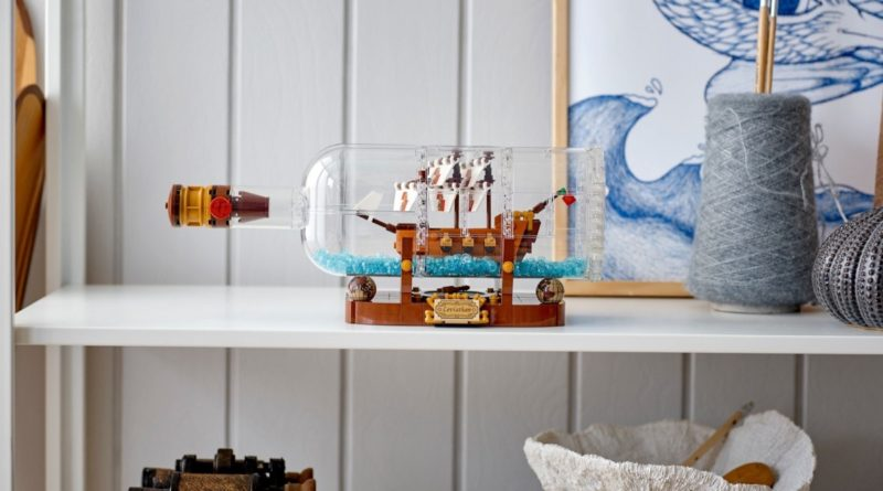 LEGO Ideas 92177 Ship in a Bottle featured
