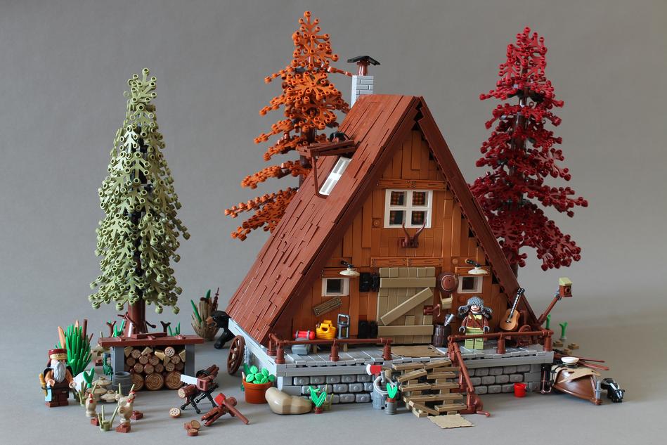 LEGO Ideas A Frame Cabin