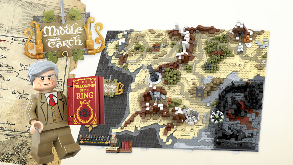 LEGO Ideas A Map Of Middle Earth 1