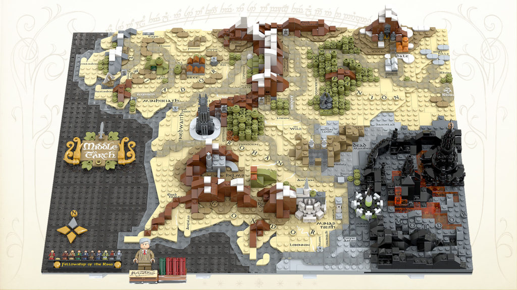 LEGO Ideas A Map Of Middle Earth 2