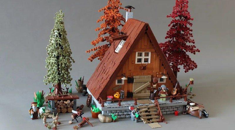 LEGO Ideas A frame Cabin featured