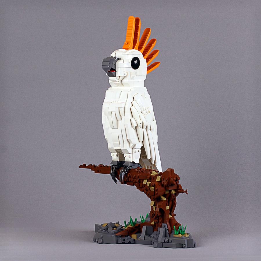LEGO Ideas AA Cockatoo