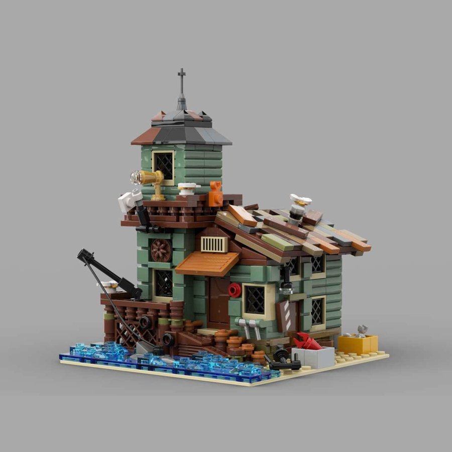 LEGO Ideas AA Old Fishing Store