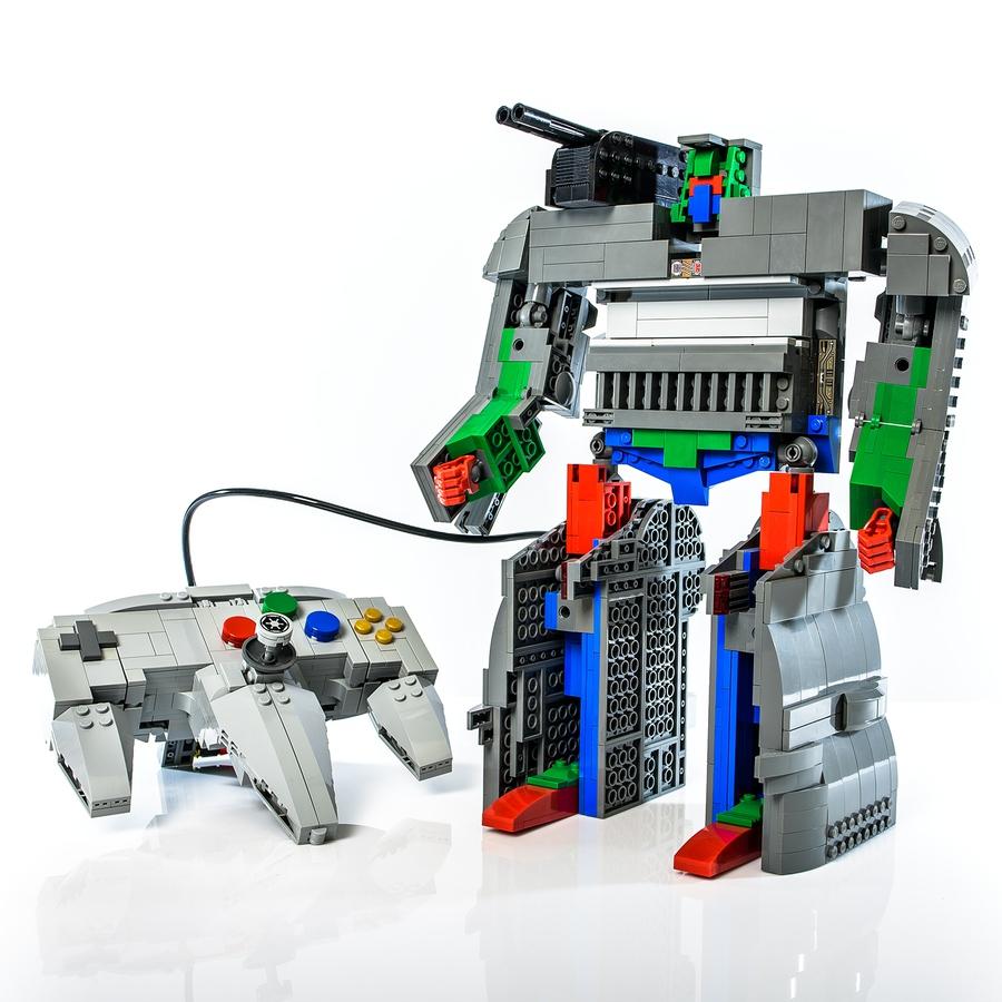 LEGO Ideas AA Robot
