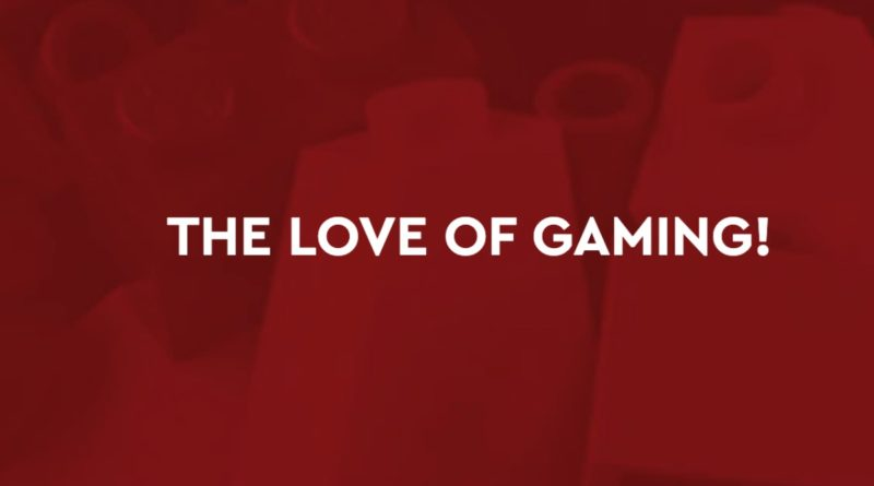 LEGO Ideas Activity Love of Gaming
