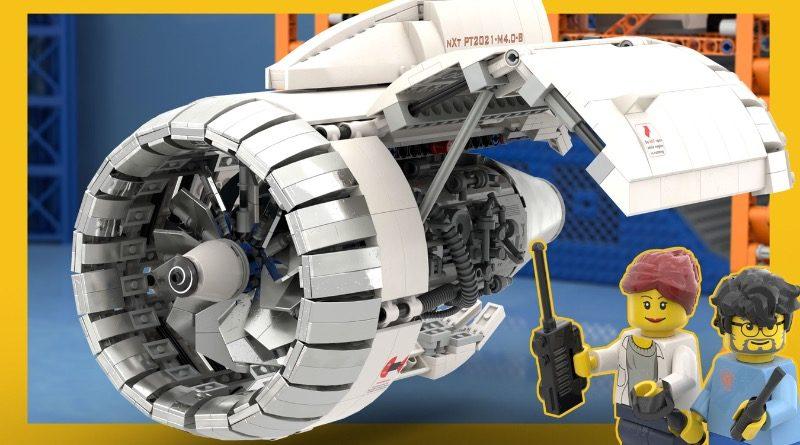 LEGO Ideas Aircraft Engine Workshop featured