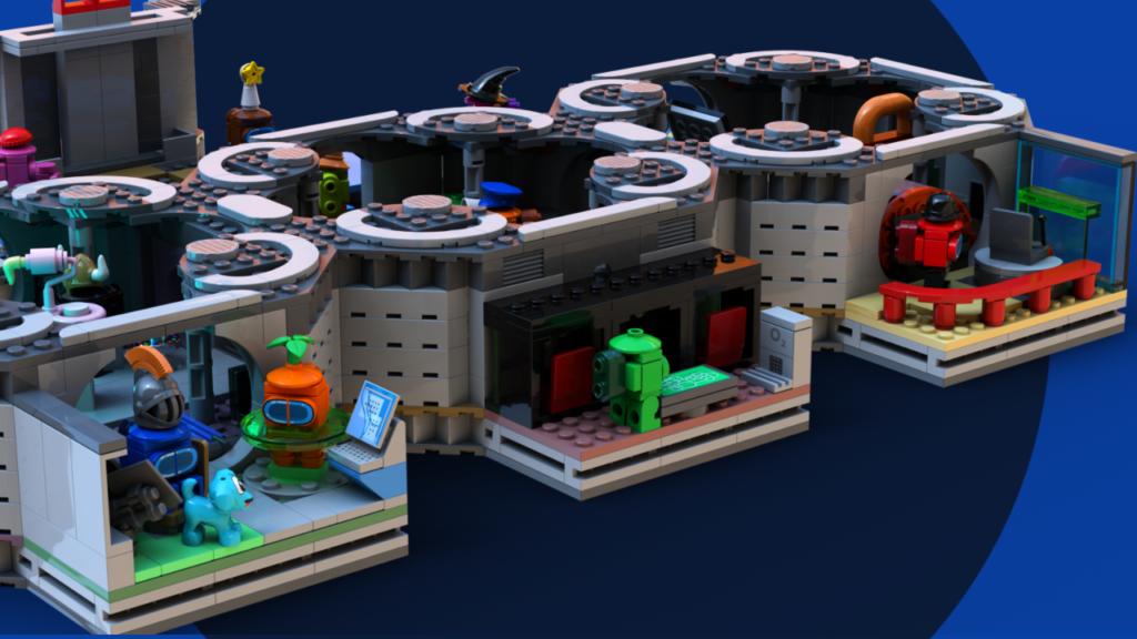 LEGO Ideas Among Us rooms