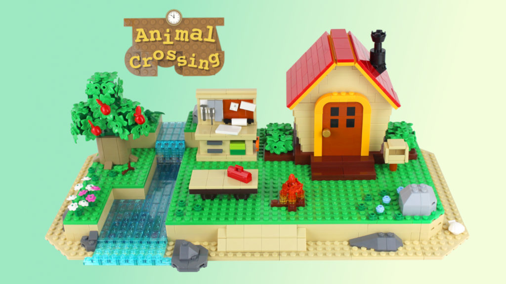 LEGO Ideas Animal Crossing New Horizons Paradise 1