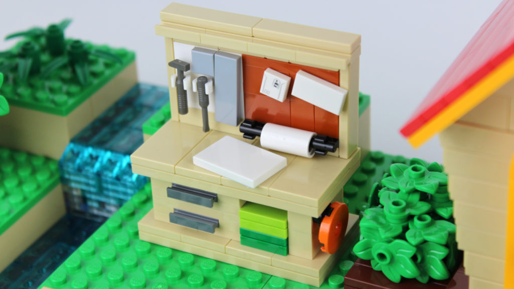 LEGO Ideas Animal Crossing New Horizons Paradise 3