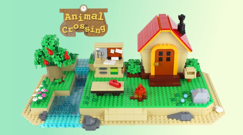 LEGO Ideas Animal Crossing New Horizons Paradise Featured