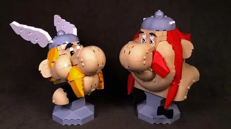 LEGO Ideas Asterix and Obelix featured