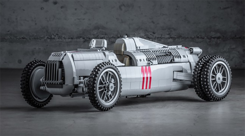 LEGO Ideas Auto Union Type C Racecar Featured