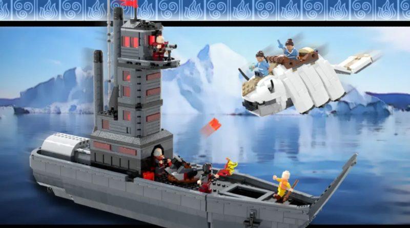 LEGO Ideas Avatar The Last Airbender The Avatar Returns featured