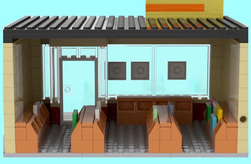 LEGO Ideas BTS Disco 2