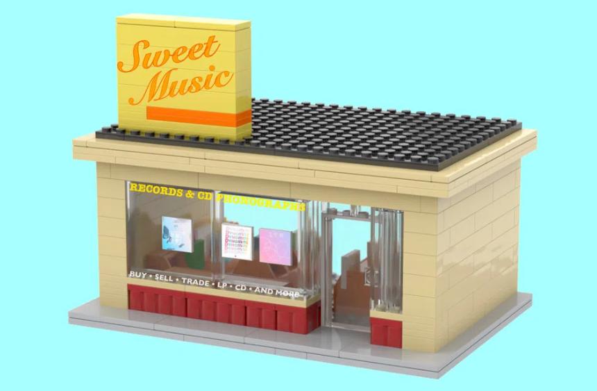 LEGO Ideas BTS Disco 4