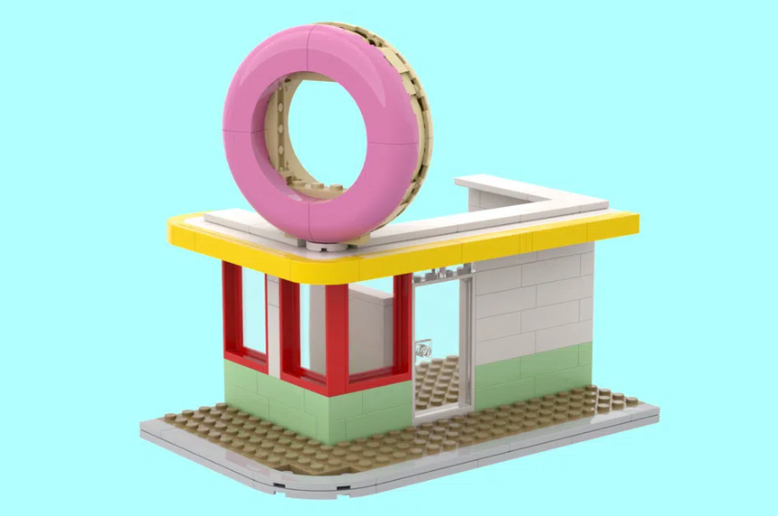 LEGO Ideas BTS disco 3