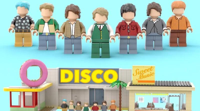LEGO Ideas BTS