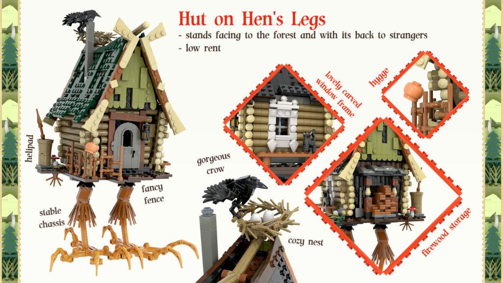 LEGO Ideas Baba Yaga 3