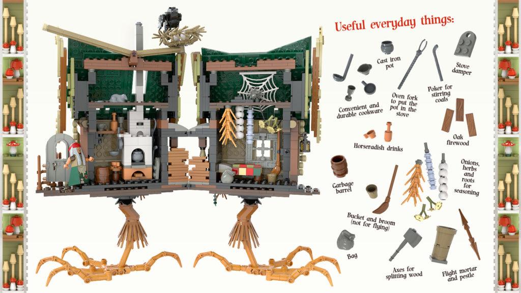 LEGO Ideas Baba Yaga 4