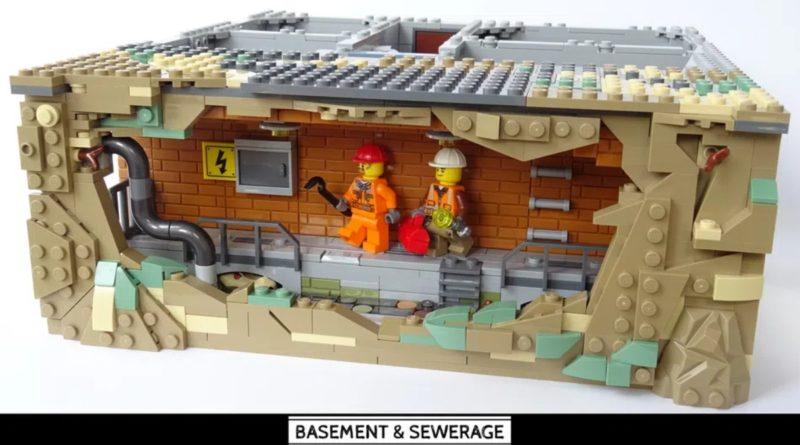 LEGO Ideas Basement Storage
