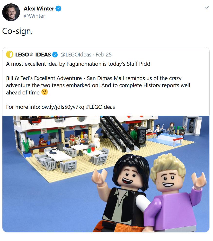 LEGO Ideas Bill Ted