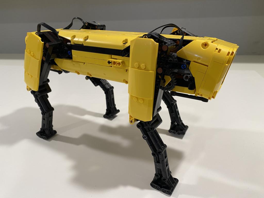 LEGO Ideas Boston Dynamics Spot 3
