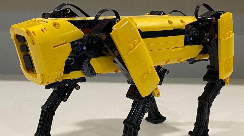 LEGO Ideas Boston Dynamics Spot featured