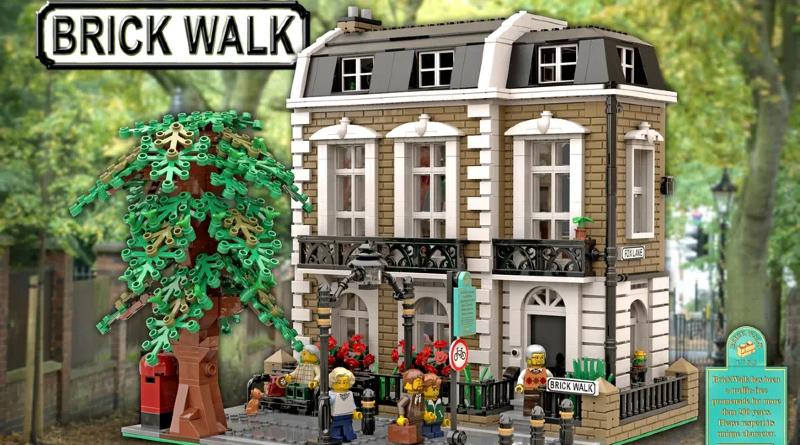 LEGO Ideas Brick Walk Featured