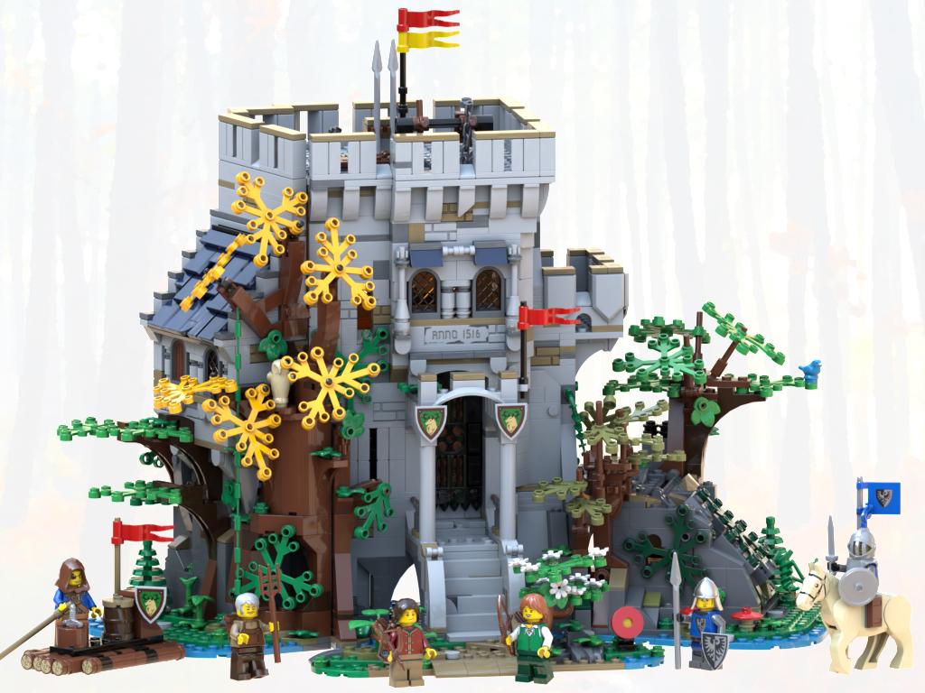 LEGO Ideas BrickLink Designer Program Castle of the Forest changes