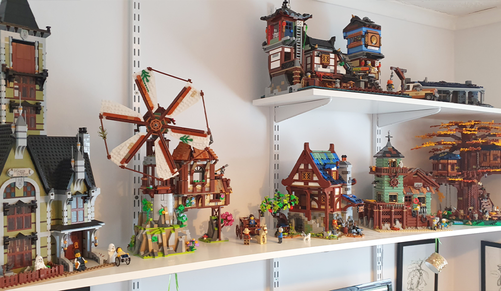 LEGO Ideas BrickLink Designer Program The Mountain Windmill Harry Finkel 2