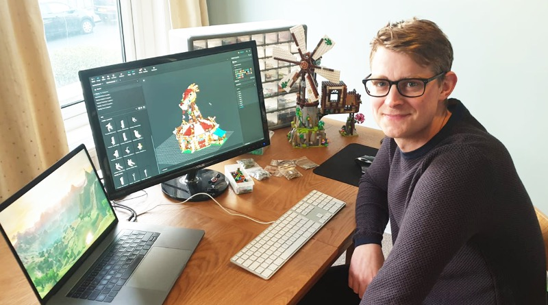 LEGO Ideas BrickLink Designer Program The Mountain Windmill Harry Finkel Featured