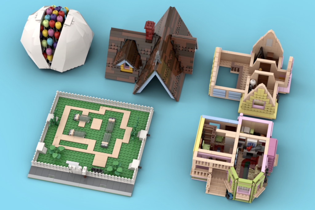 LEGO Ideas Carls House 4
