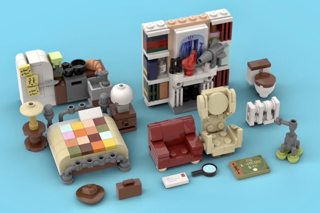 LEGO Ideas Carls House 6