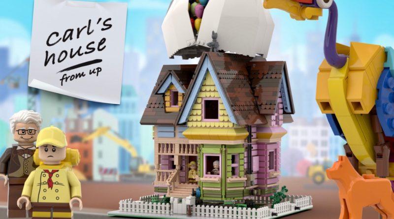 LEGO Ideas Carls House featured