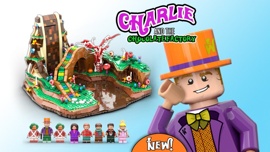 LEGO Ideas Charlie And The Chocolate Factory 1