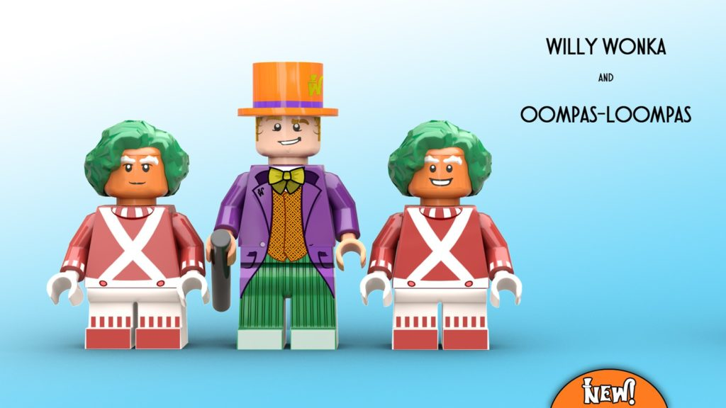 LEGO Ideas Charlie And The Chocolate Factory 2