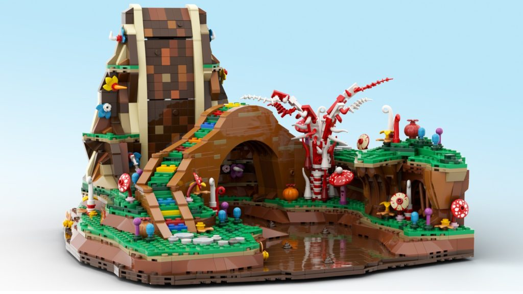 LEGO Ideas Charlie And The Chocolate Factory 4
