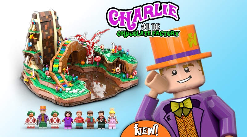 LEGO Ideas Charlie And The Chocolate Factory Featured