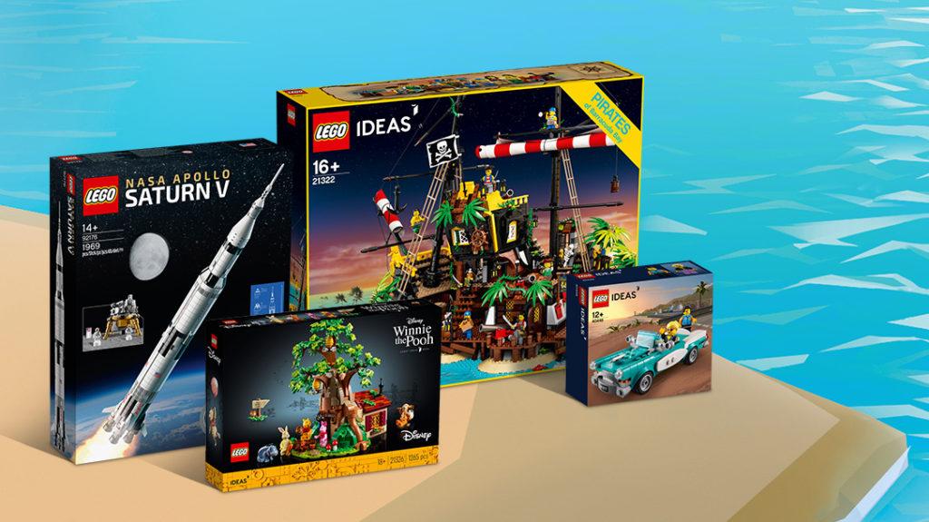 LEGO Ideas Coastal Seaside Contest Prizes