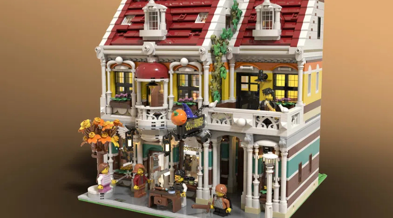 LEGO Ideas Costume Shop Featured