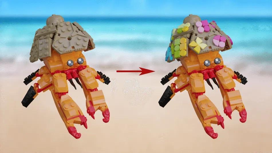 LEGO Ideas Customize A Crab
