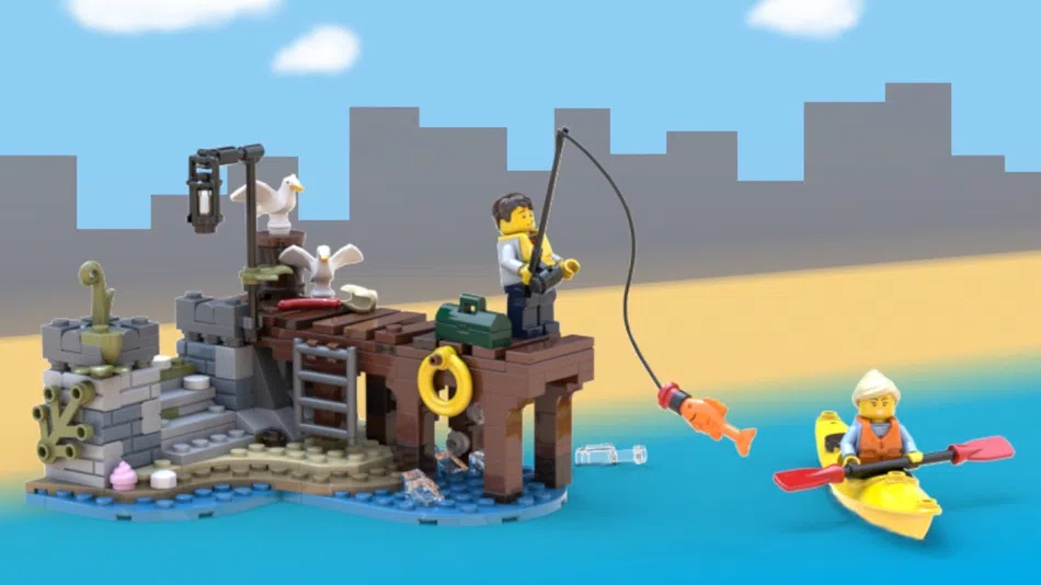 LEGO Ideas Down By The Docks