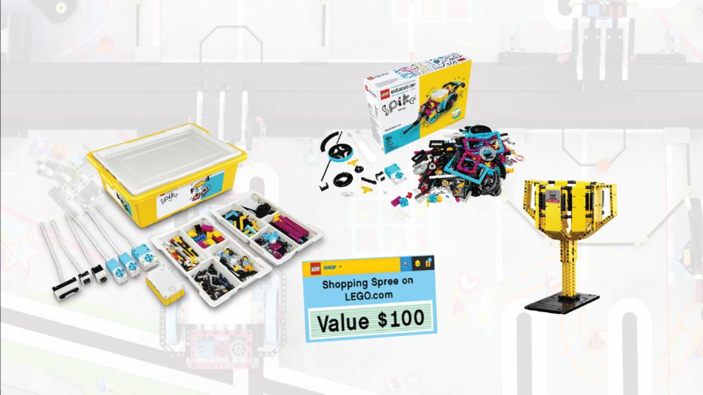 LEGO Ideas FIRST LEGO League Prizes