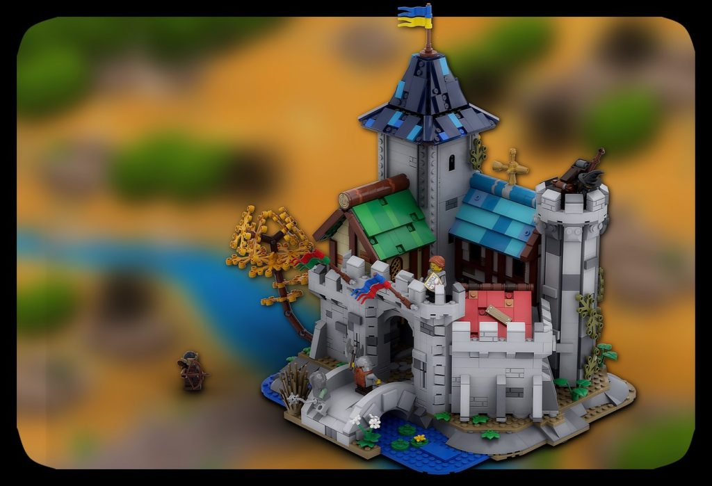 LEGO Ideas Fantasy Castle 1