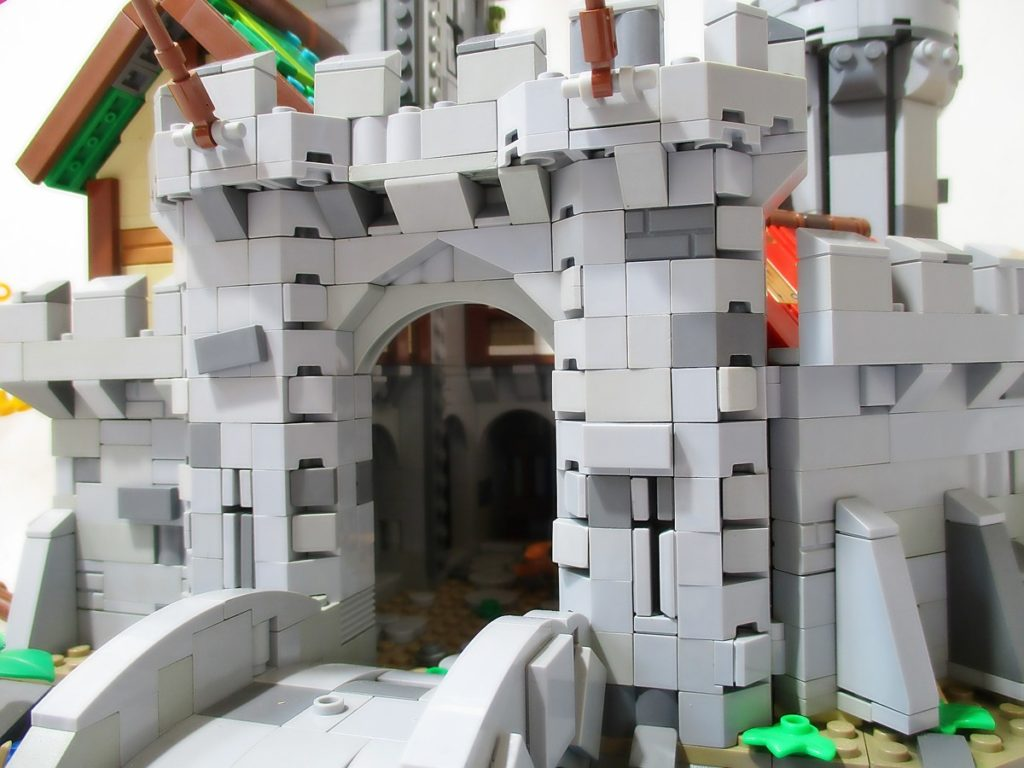 LEGO Ideas Fantasy Castle 3