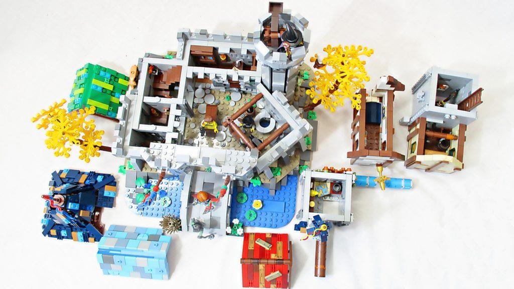 LEGO Ideas Fantasy Castle 6