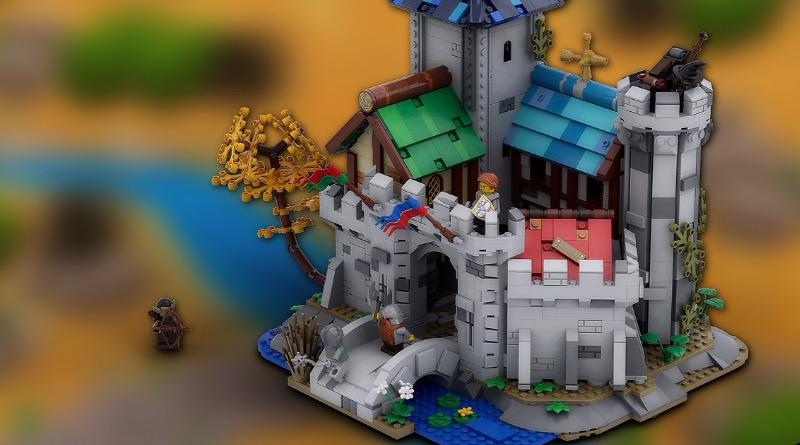 LEGO Ideas Fantasy Castle Featured
