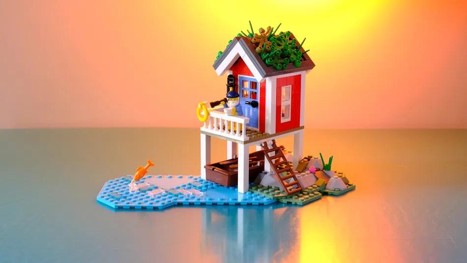 LEGO Ideas Far North Fishing