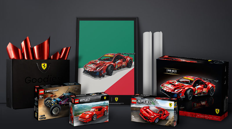 LEGO Ideas Ferrari Contest Featured 800x445
