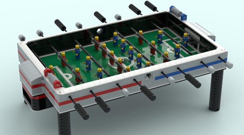 LEGO Ideas Foosball Table Featured 800x445